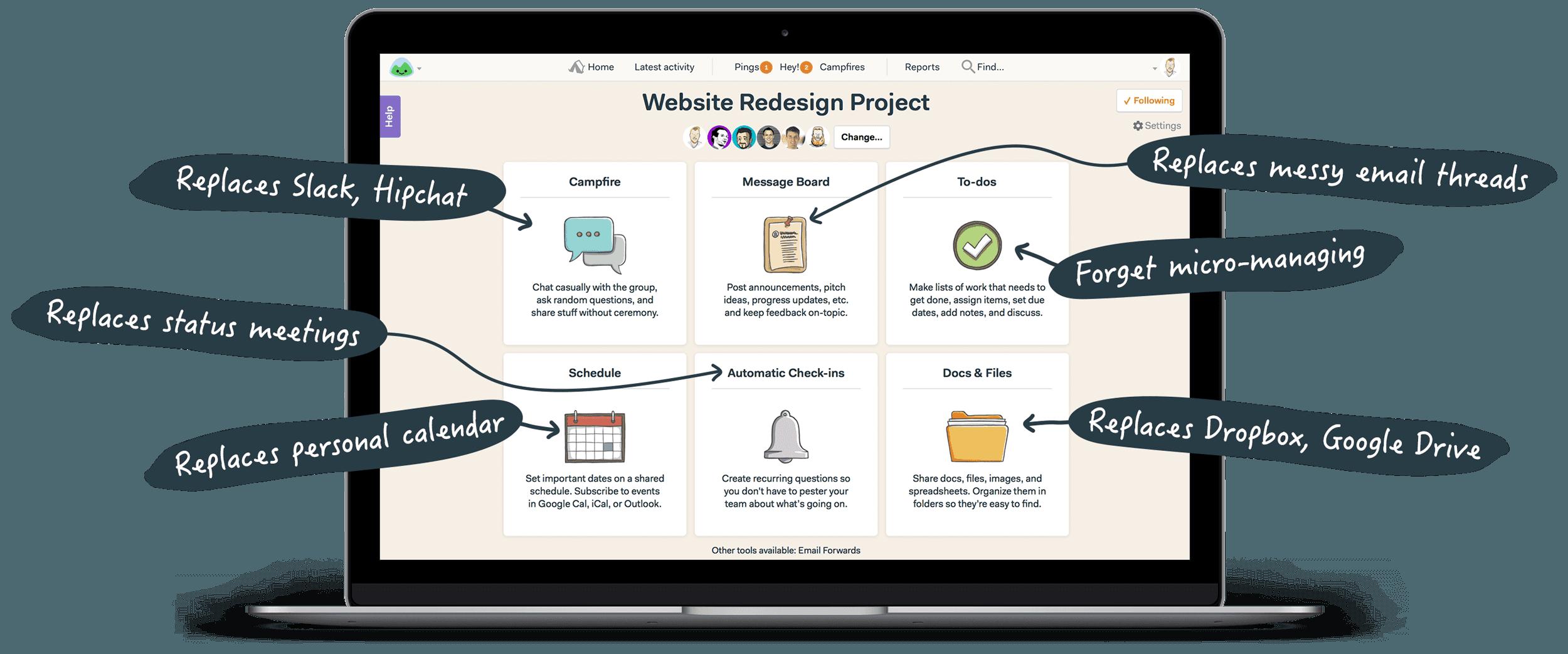 Aplicatii management de proiect basecamp 1