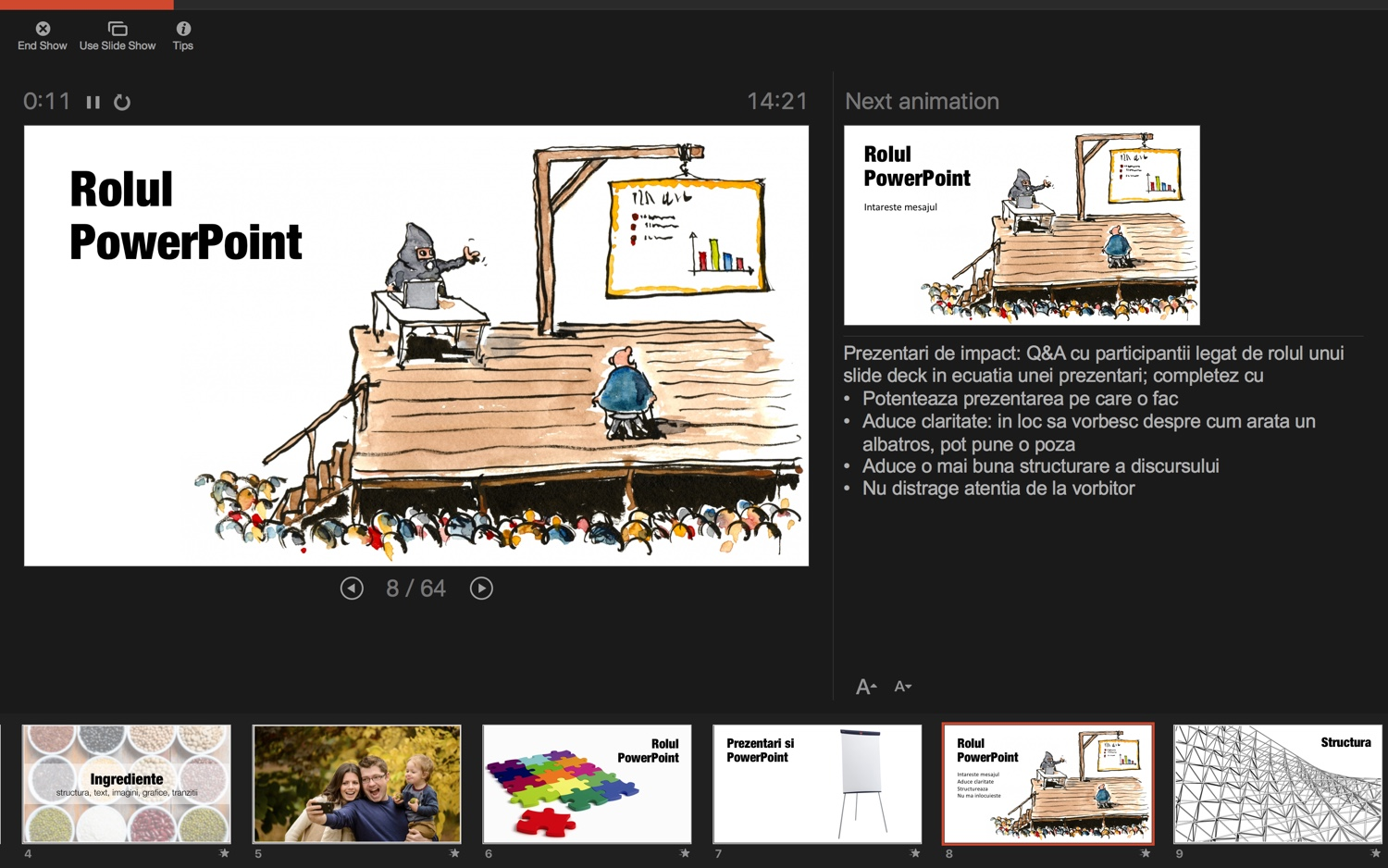 PowerPoint Presenter View - web