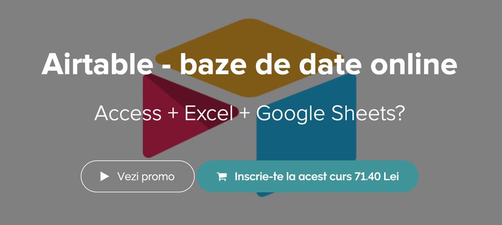 baze de date - curs online